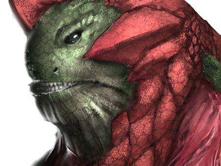 Dragon-Headed Lizard
