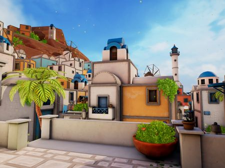 Greek Island Town - Third Person Environment Project