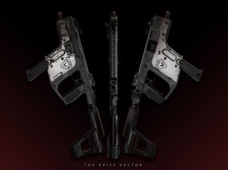 The Kriss Vector | 3D Hard Surface Model
