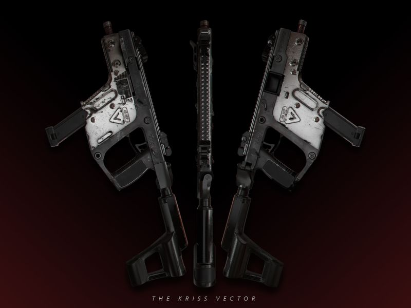 The Kriss Vector | 3D Hard Surface Model