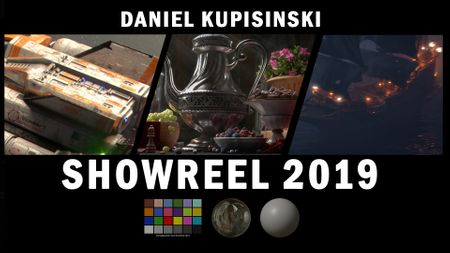 Daniel Kupisinski Student Showreel 2019 - Look Development