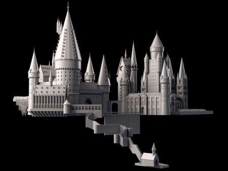 Hogwarts WIP#2 - Modelling (clay)