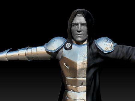 Caladen Mire a DND Character Sculpt