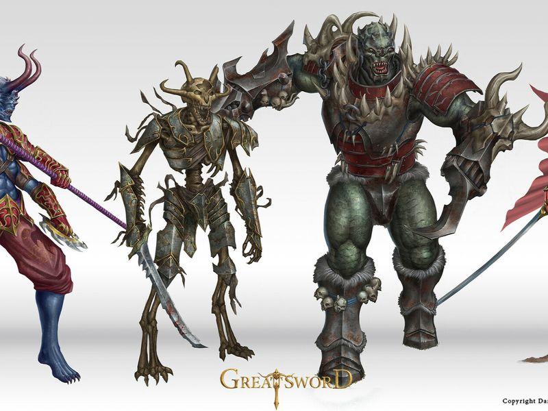 Various Fantasy Characters