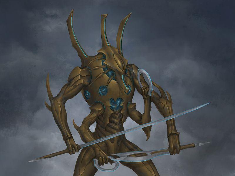Ancient Alien Warrior