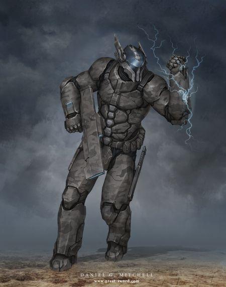 Power Armour Designs