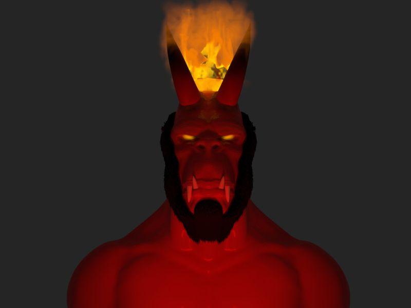 Primal Hellboy