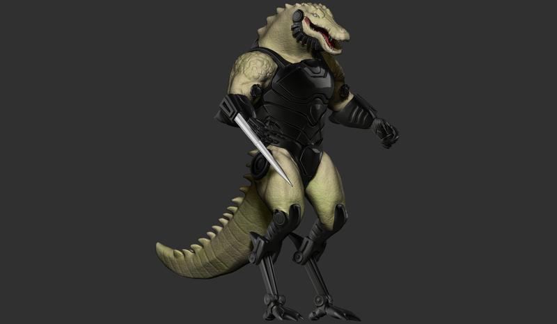 Cyborg Croc