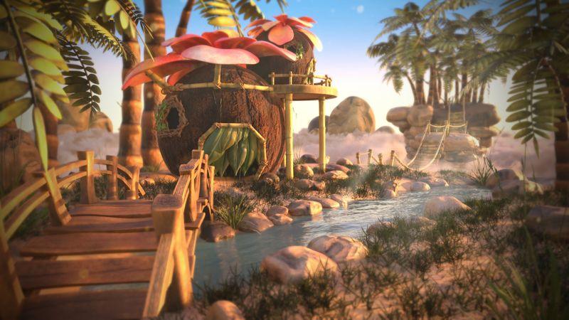 Coco Floating Island