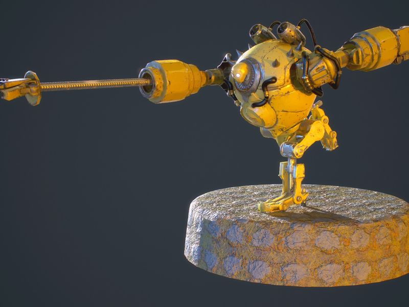 Blitzcrank, the Great Steam Golem, fan art