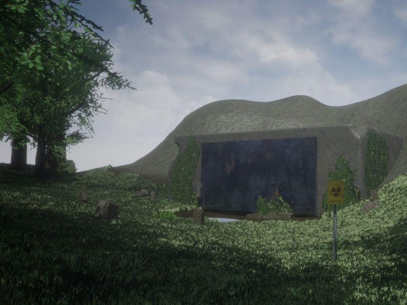 Outdoor Bunker Environment