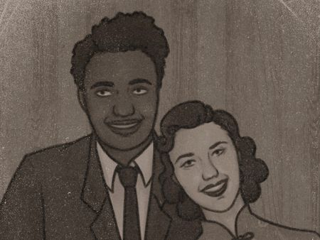 Illustration - Reid & Yu's Wedding Photo