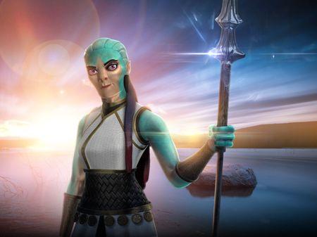 Legaia, the siren warrior