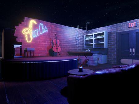 Jazz Club Diorama