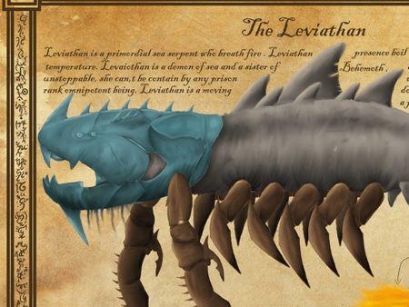 Leviathan, Demon Of Envy