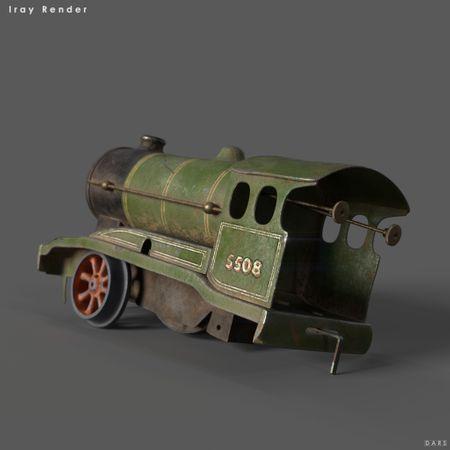 'Vintage Model Train