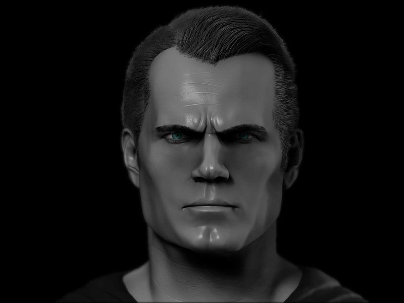 SUPERMAN. NICK FURY. ZBRUSH LIKENESS