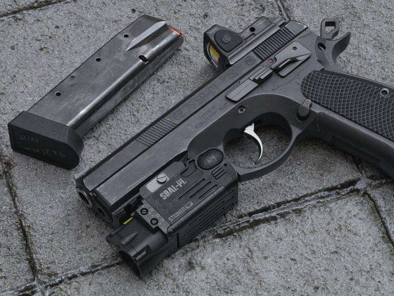 CZ 75 SP-01 Shadow Target II / SBAL-PL / RMR Red Dot sight