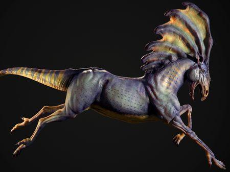 Davide Gordon 2020 - Creature Modeling