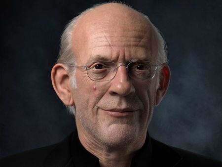 Portrait of Christopher Lloyd