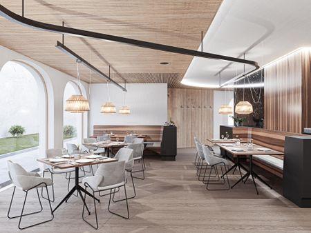Zentral cafe restaurant/ My first aproach to Arch viz