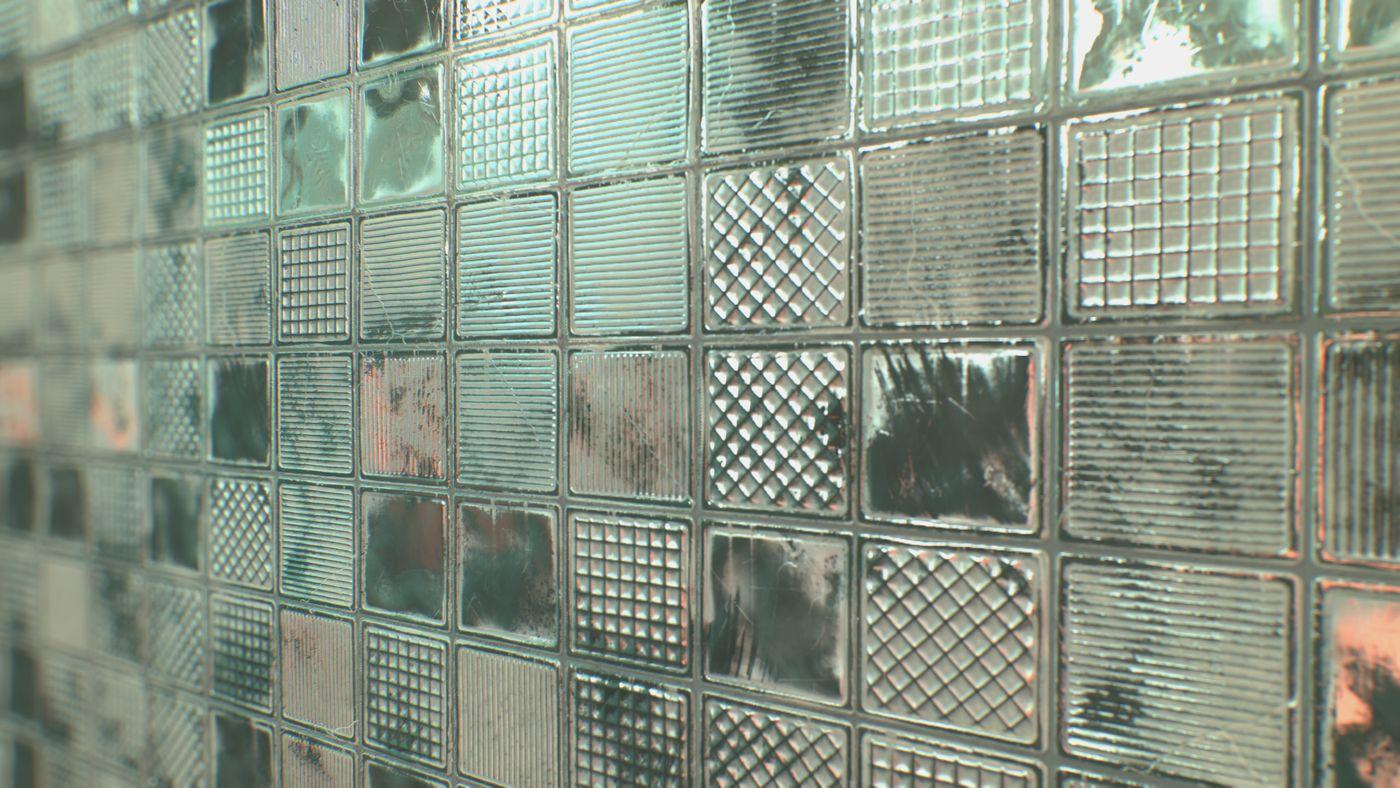 Glass Block Wall 002 Davidhartmann