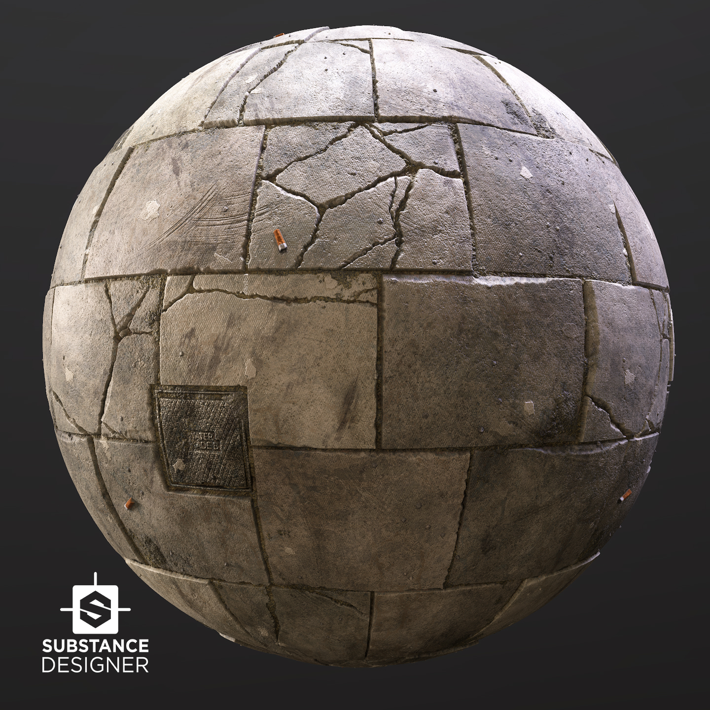 Paving Slabs - 100% Substance Designer | The Rookies