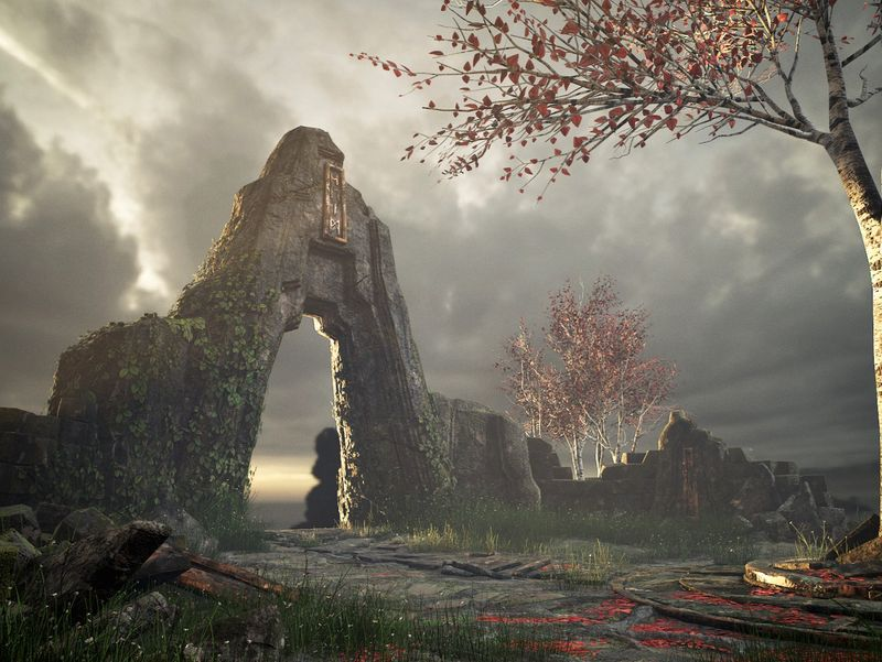 God of War Inspired Environment