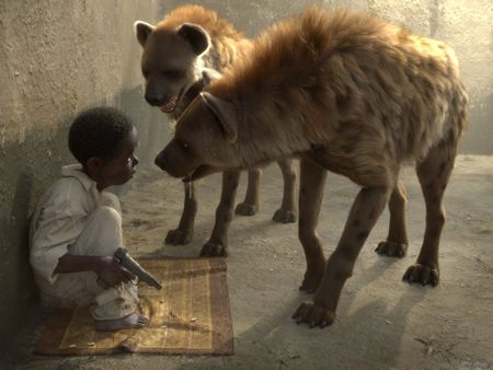 Kid and the Hyenas