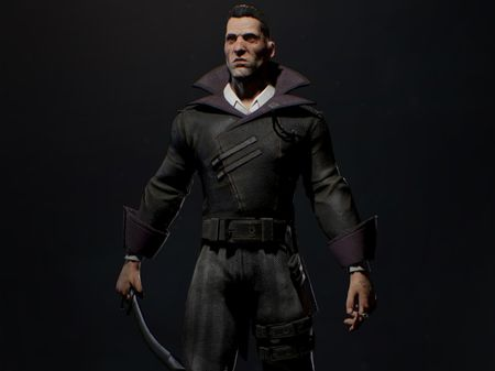 Dishonored Style Charcter: Uni Project