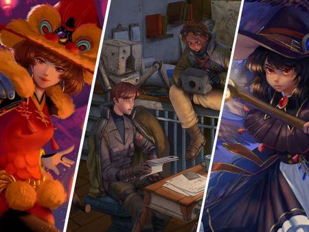 Deadora's Concept Design and Illustration