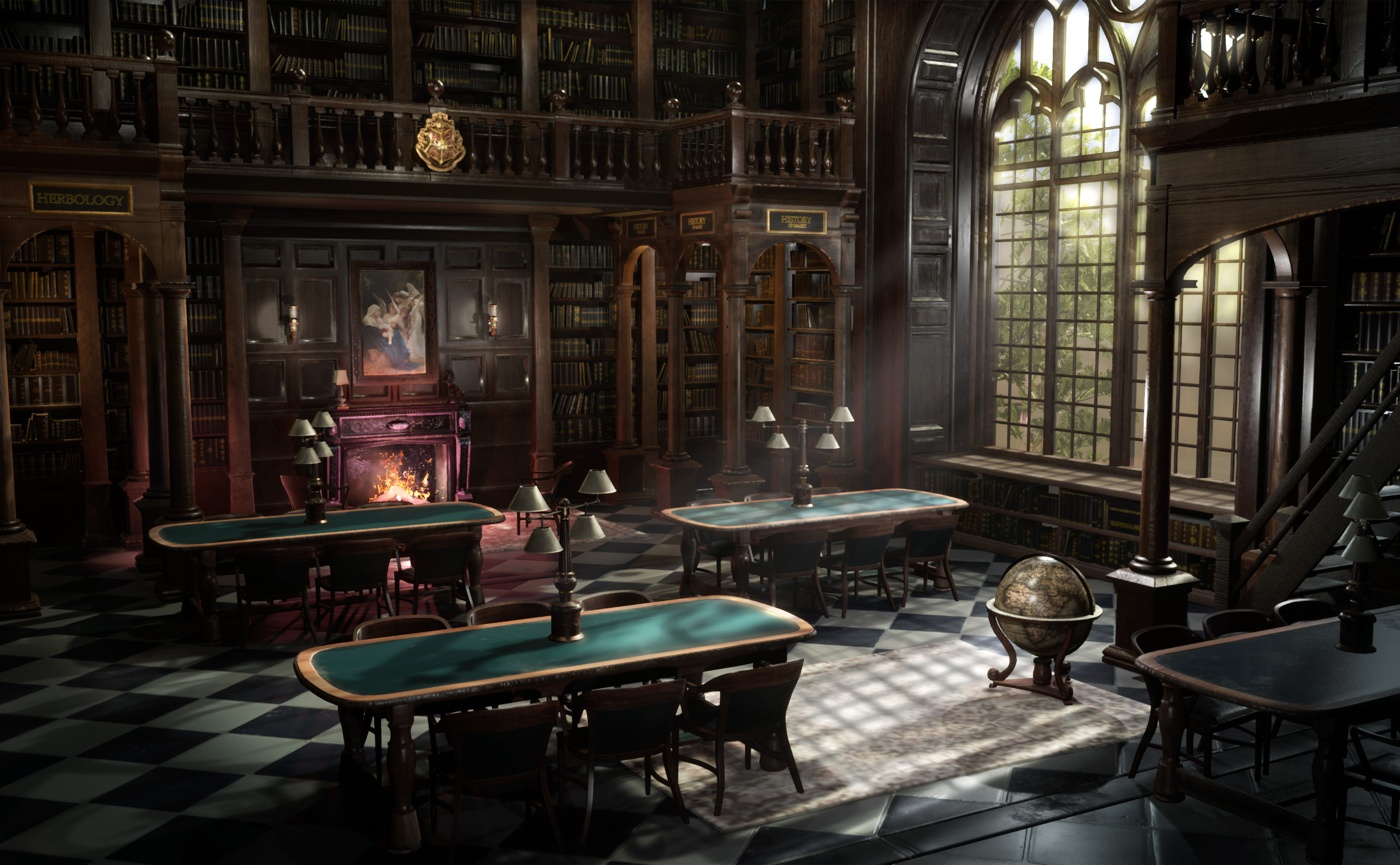 Hogwarts Library | The Rookies