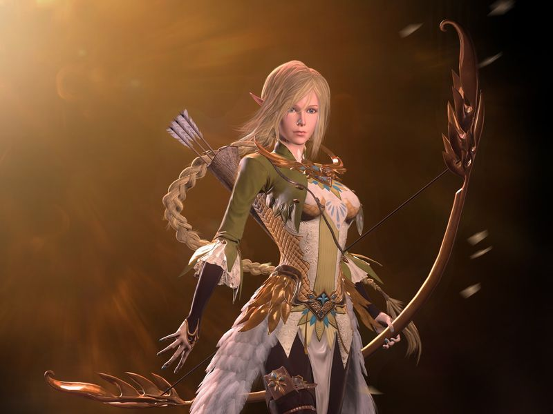 High Archer Elf