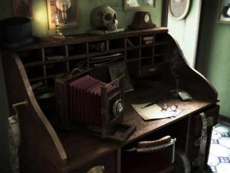 A Photographer's Desk