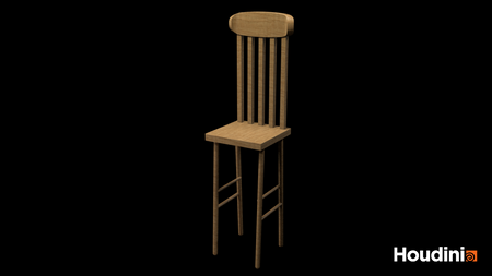 Procedural Chair 3D