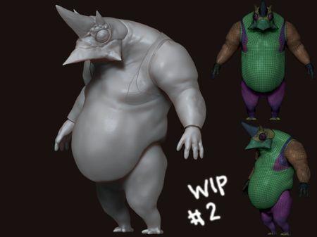 Lizardman Real Time Model