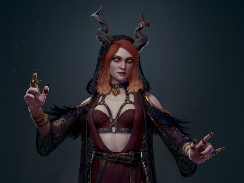 Demon Sorceress