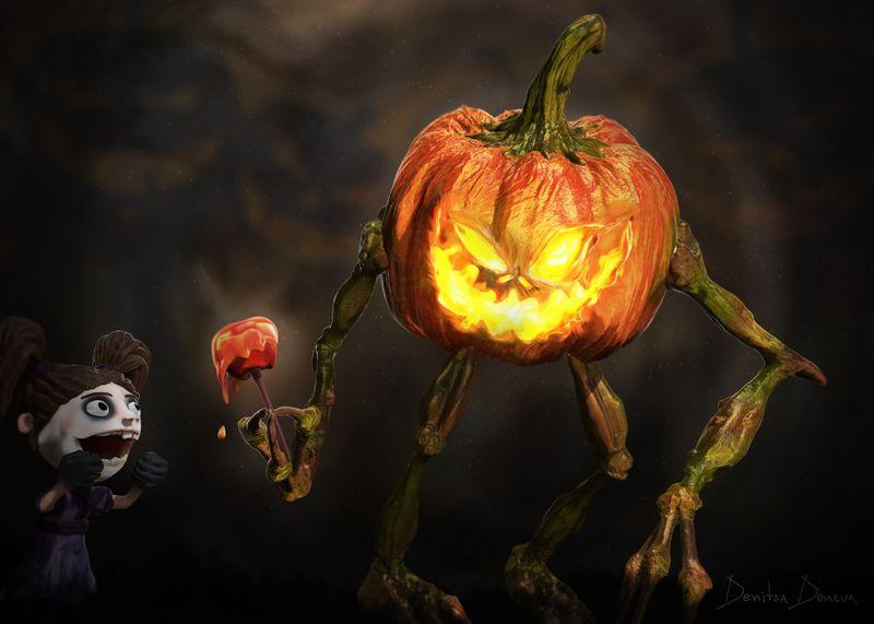 Halloween Corvits