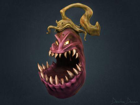 Eggplant monster