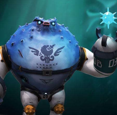 ArtStation Challenge Beneath the Waves, Bob the Boomer
