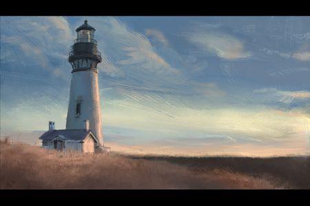 Stylized Lighthouse Studies
