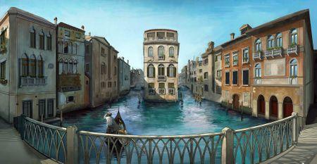 Venice Environment Panorama