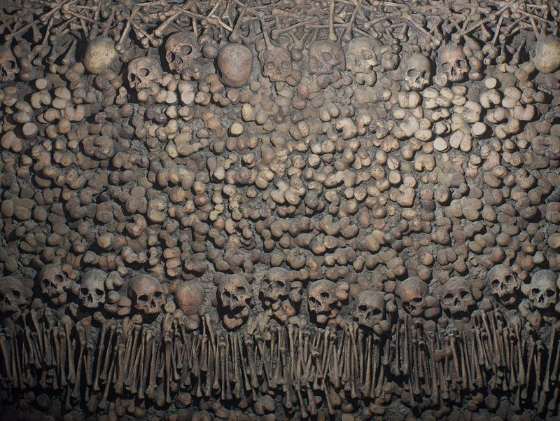 Paris Catacombs - Substance Material