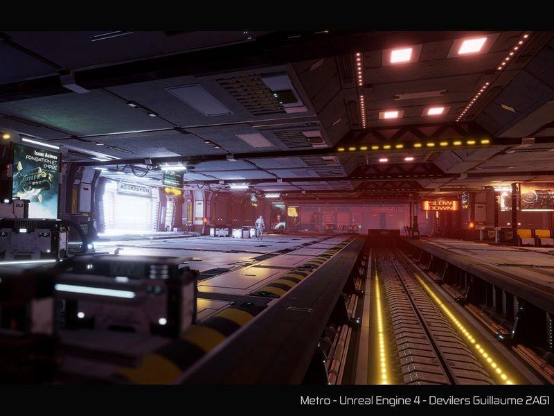 Sci Fi Metro