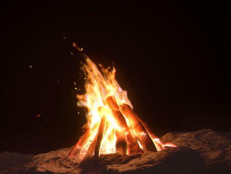 Campfire (Houdini)