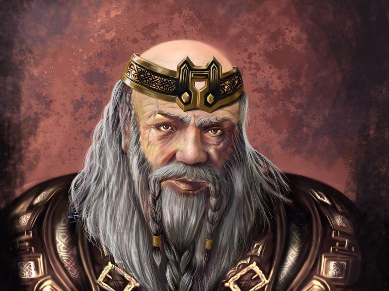 Dwarf. Digital art