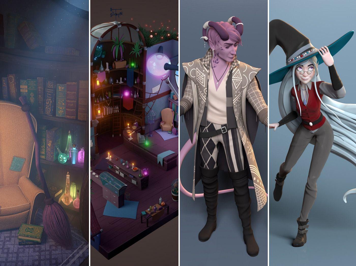 3D Characters and Environment - Diana Sousa