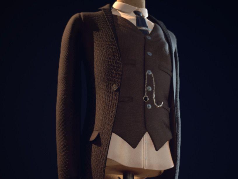 Peaky Blinders Style Suit