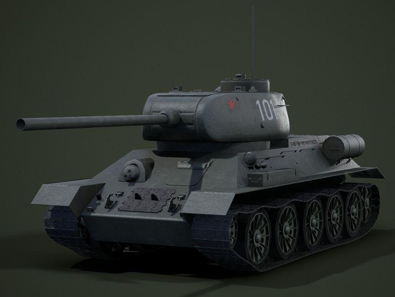 T-34-85 Tank