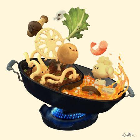 Hot Pot! - 3D Render - Think Tank Foundation Program